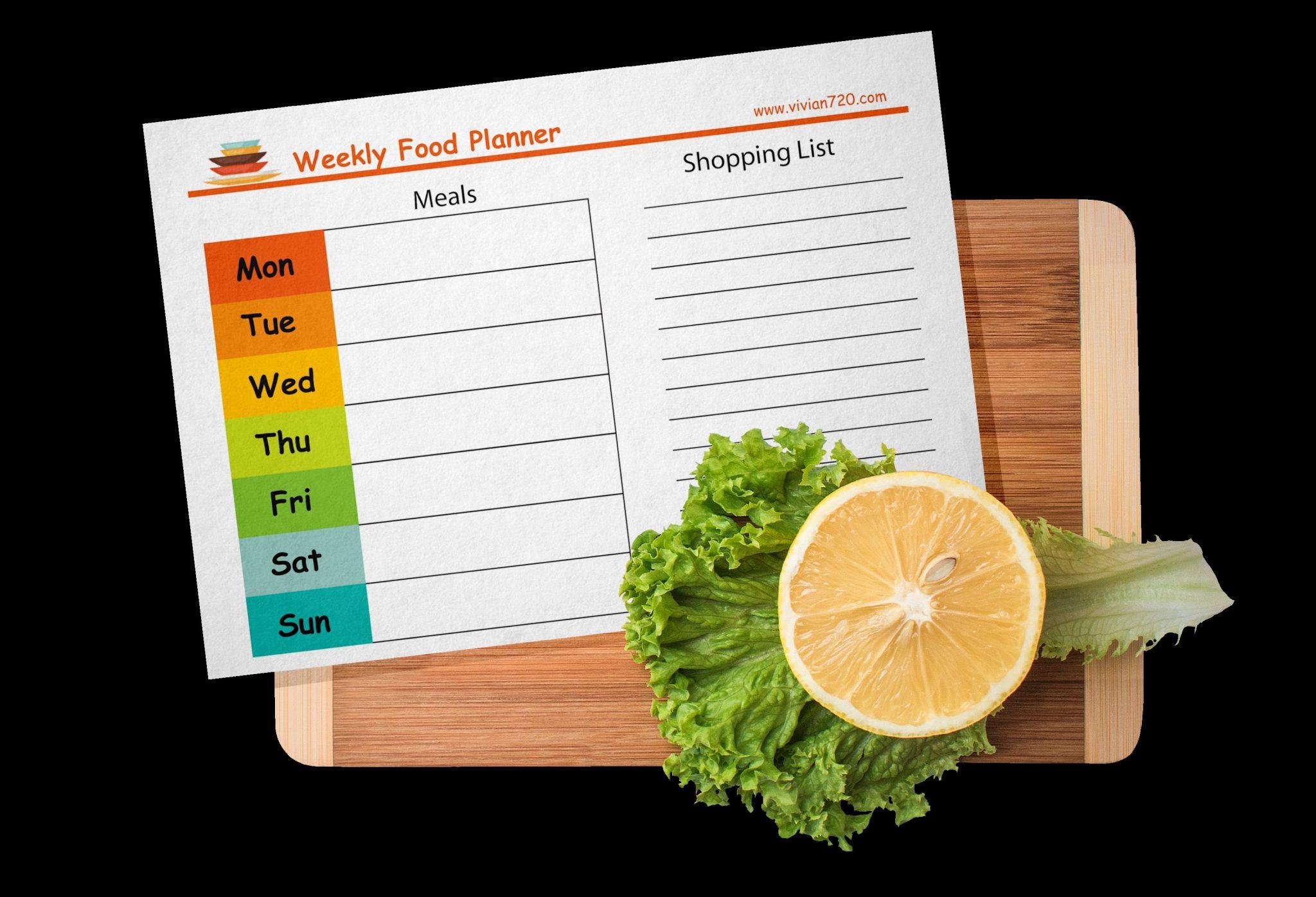 Food Planner-shopping List